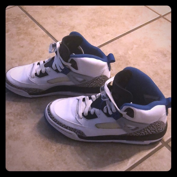 9f30b3b3417f Jordan Shoes - Real Air Jordans Spizike BG Wolf grey